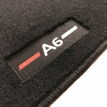 Logo Automatten Audi A6 C6 Restyling Allroad Quattro (2008 - 2011)