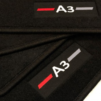 Logo Automatten Audi A3 8VA Sportback (2013 - neuheiten)