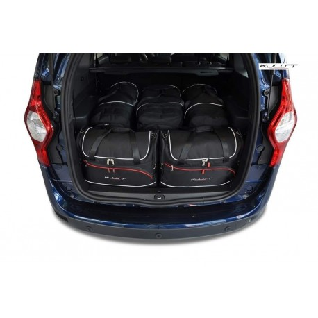 Maßgeschneiderter Kofferbausatz für Dacia Lodgy 5 plätze (2012 - neuheiten)