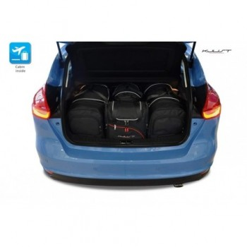 Maßgeschneiderter Kofferbausatz für Ford Focus MK3 3 oder 5 türen (2011 - 2018)