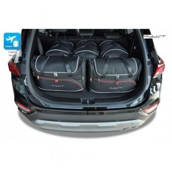 Maßgeschneiderter Kofferbausatz für Hyundai Santa Fé 7 plätze (2018 - neuheiten)