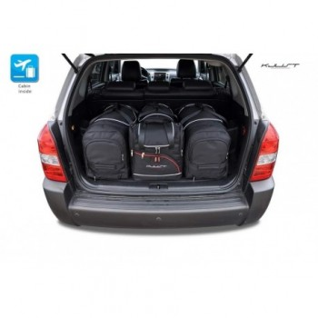Maßgeschneiderter Kofferbausatz für Hyundai Tucson (2004 - 2009)