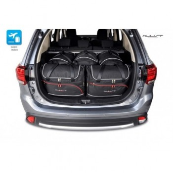 Maßgeschneiderter Kofferbausatz für Mitsubishi Outlander (2012 - 2018)