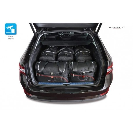 Maßgeschneiderter Kofferbausatz für Skoda Superb Combi (2015 - neuheiten)