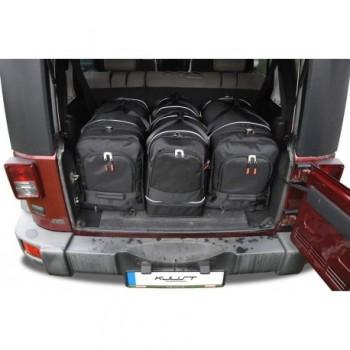 Maßgeschneiderter Kofferbausatz für Jeep Wrangler 5 türen (2007 - 2017)