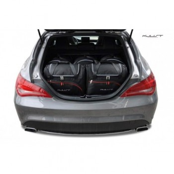 Maßgeschneiderter Kofferbausatz für Mercedes CLA X117 touring (2015 - 2018)