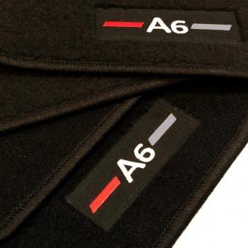 Logo Automatten Audi A6 C8 allroad (2018-neuheiten)