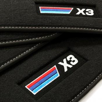 Velour Automatten BMW X3 G01 (2017 - neuheiten)