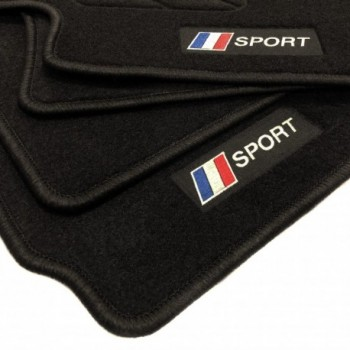 Frankreich flagge Citroen DS3 (2010 - neuheiten) Fußmatten