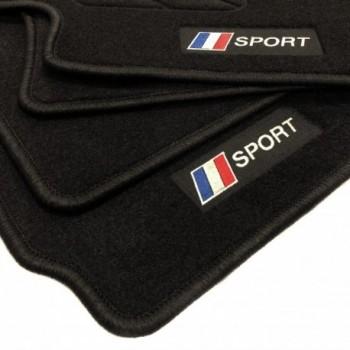 Frankreich flagge Dacia Lodgy 5 plätze (2012 - neuheiten) Fußmatten