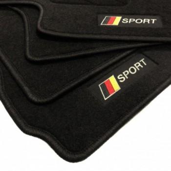 Deutschland flagge Seat Ibiza 6K (1993 - 2002) Fußmatten