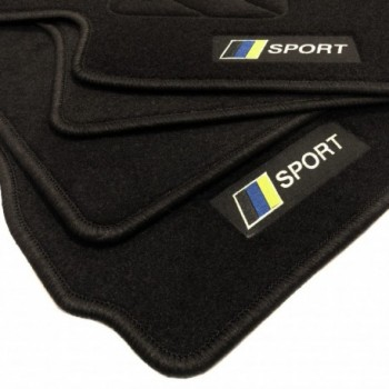 Racing flagge Subaru Impreza (2007 - 2011) Fußmatten
