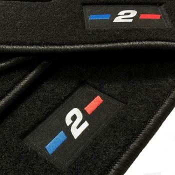 Logo Automatten BMW 2er F46 7 plätze (2015 - neuheiten)