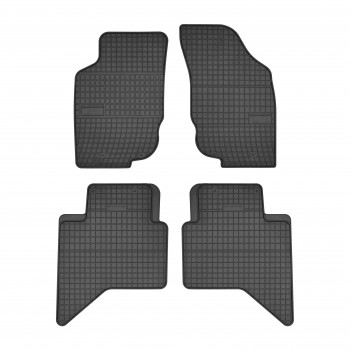 Gummi Automatten Toyota Hilux doppelkabine (2012 - 2017)