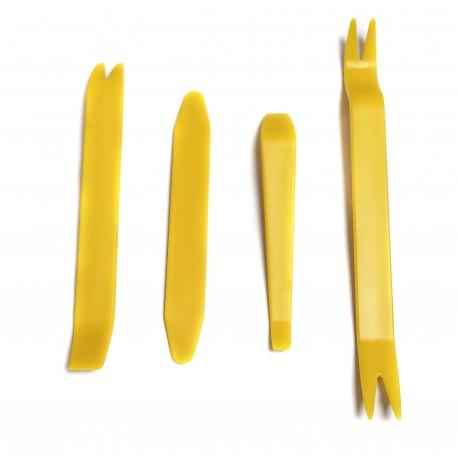 Kit tools für die Demontage des Wagens (staples, Kunststoff, Platten, Untersichten)