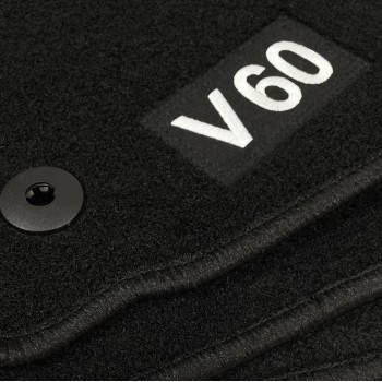 Logo Automatten Volvo S60 (2010 - neuheiten)