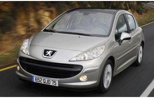 Exklusive Automatten Peugeot 207 3 oder 5 türen (2006 - 2012)