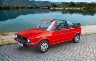 Preiswerte Automatten Volkswagen Golf 1 Cabrio (1979 - 1993)