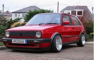 Preiswerte Automatten Volkswagen Golf 2